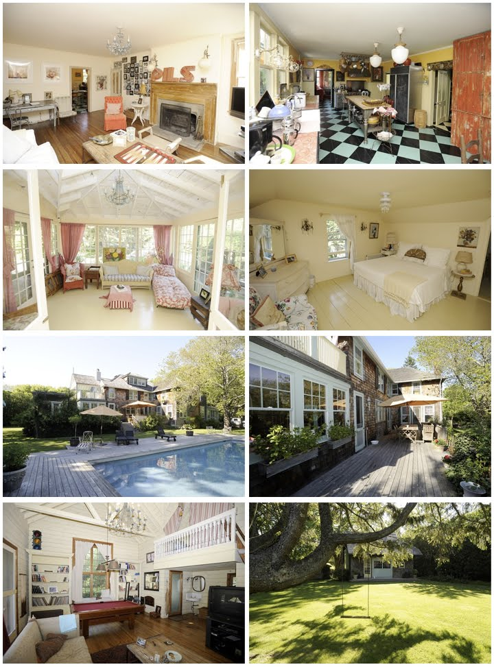 Mariska Hargitay East Hampton House Celebrity Houses
