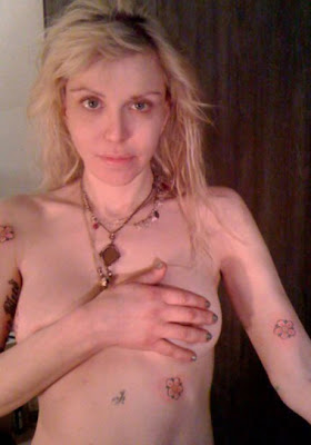 Courtney Love Tattoos