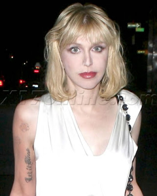 Lettering Tattoo Courtney Love