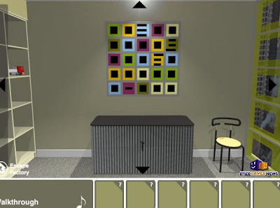 Design Room Escape walkthrough
