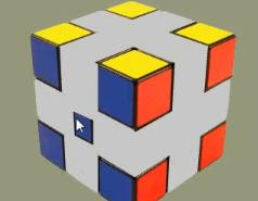 Rubix Cube Escape walkthrough