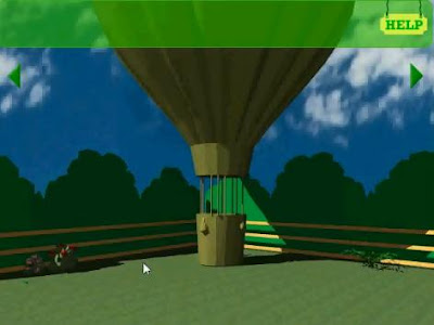 Balloon Escape walkthrough