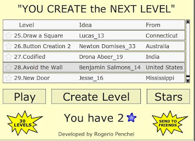 You Create the Next Level walkthrough