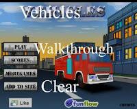 Vehicles walkthrough
