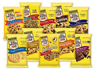 Nestle cookie dough recall Tollhouse products