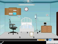 Hospital Ward Room Escape walkthrough