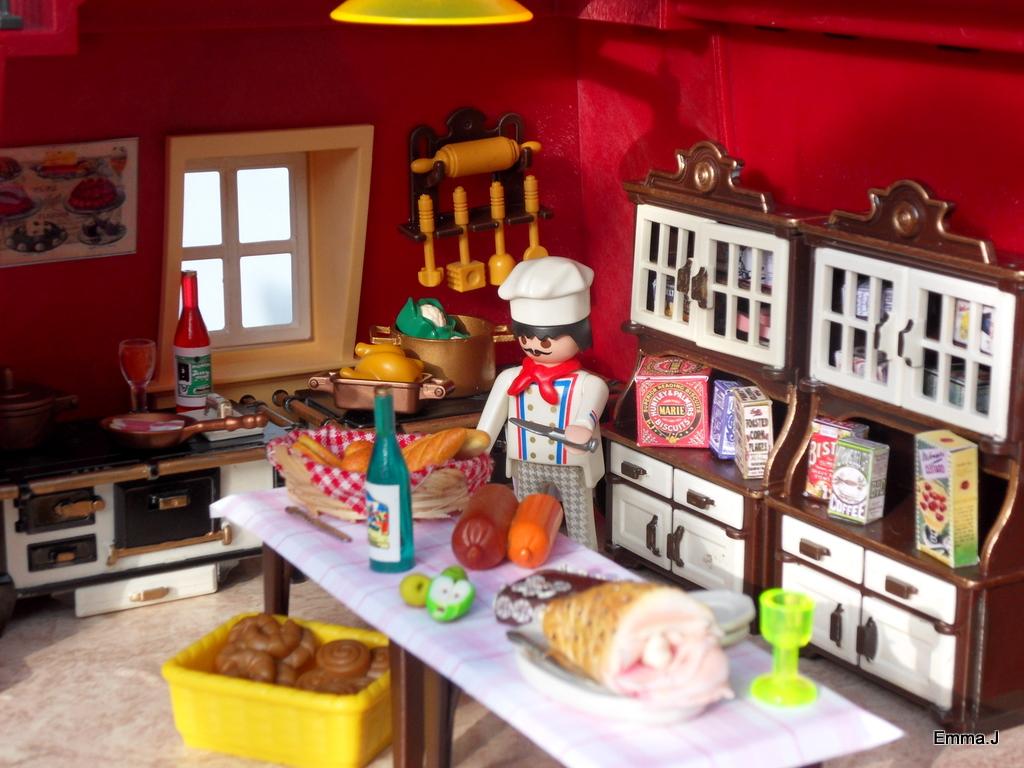 5302 bistro de paris emma j 39 s creations - Table de jeu playmobil ...
