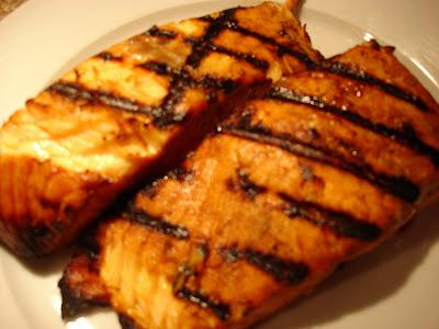 Firecracker Grilled Alaskan Salmon