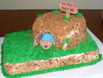 Groundhog day cake i want to make | Pets | Pinterest