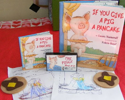 if you give a pig a pancake coloring pages - ten kids and a dog if you give a pig a pancake reading