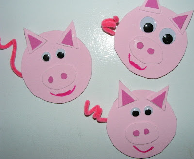 ten kids and a dog mrs wishy washy and piggy crafts