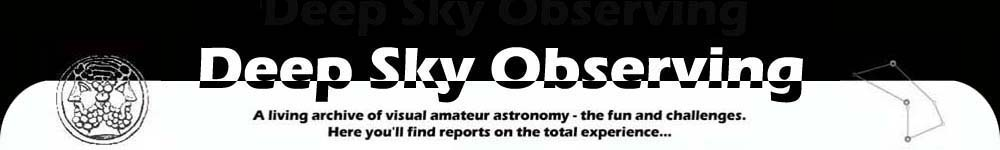 Deep Sky Observing