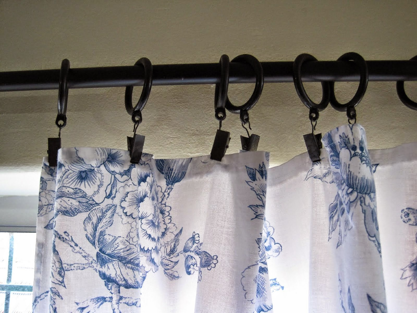 Curtain Ikea Rod Clips Curtains Gray Pinch Cafe World