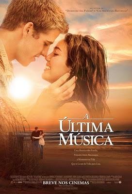 Filme Poster A Última Música DVDRip RMVB Dublado