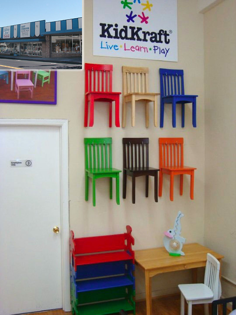 kidkraft toys furniture kidkraft s avalon chairs make great wall