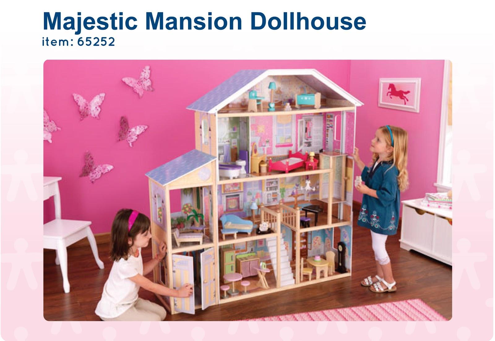 Игрушечный домик для девочек своими руками