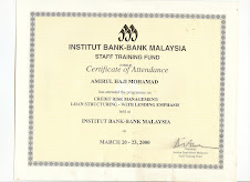 BANKING COURSES ATTENDED