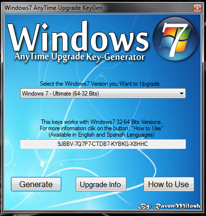 Программное обеспечение Windows 7 Home Basic 64.