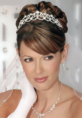 Elegant Newest Bridal Hairstyles 1