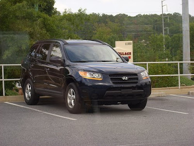 The 2009 Hyundai Santa Fe