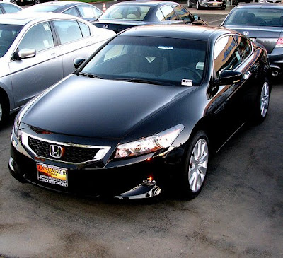 honda accord coupe pictures of the 2009 honda accord coupe black The front