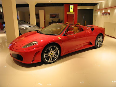 The Ferrari F430 Spider