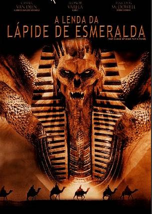 Filme Poster A Lenda da Lápide de Esmeralda DVDRip XviD & RMVB Dublado