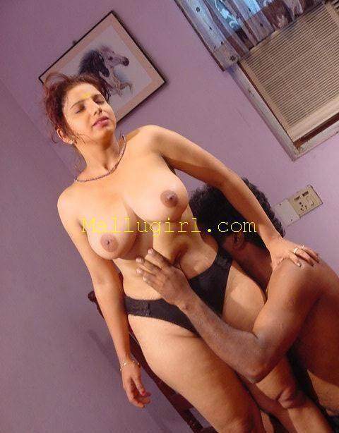 Mallu aunty with boy sex