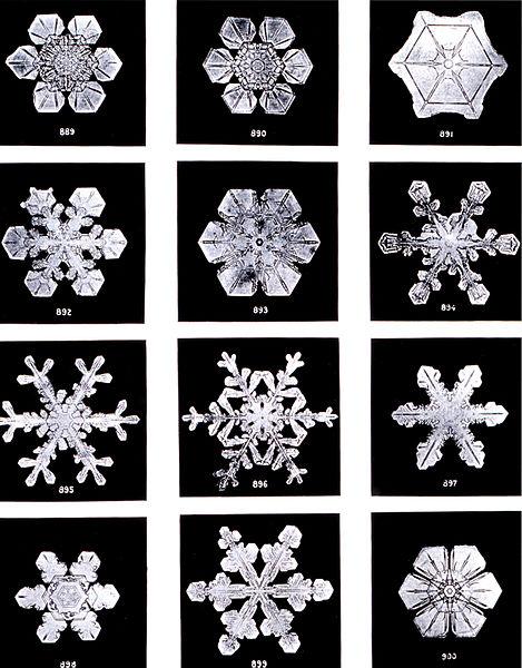 Kar tanesi var ya hani kar kristali olarak geçiyormuş literatürde