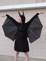 HOWTO: Make a bat-person costume out of an old umbrella - Boing Boing