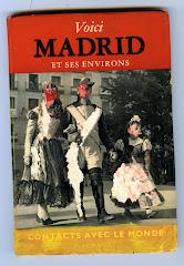 """46 SOUS LA COUVERTURE : """" VOICI Madrid """" mes quelques pages...  pour ce projet."""