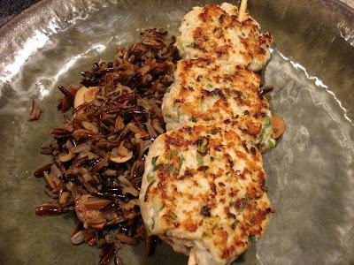 Melissa Cooks Gourmet: Asian Chicken and Water Chestnut Patties