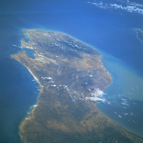 la Guajira foto satelital