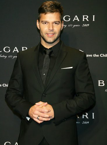 ricky martin gay. Ricky Martin publicly admitted