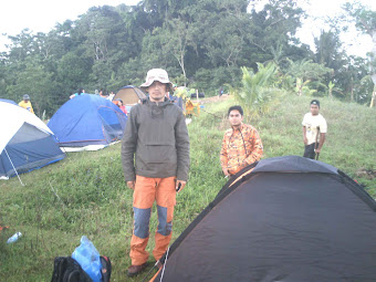 CAMPING IN MAASIN