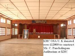 Panchalingam Auditorium