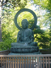 The Buddha at the San Francisco Japanese Garden