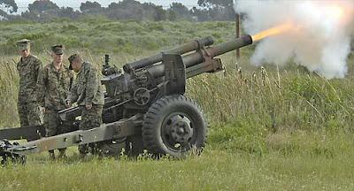 artilleria argentina