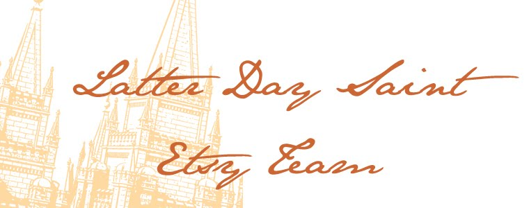 LDS Members of Etsy Blog