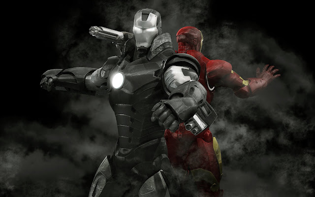 War Machine-Iron Man-close