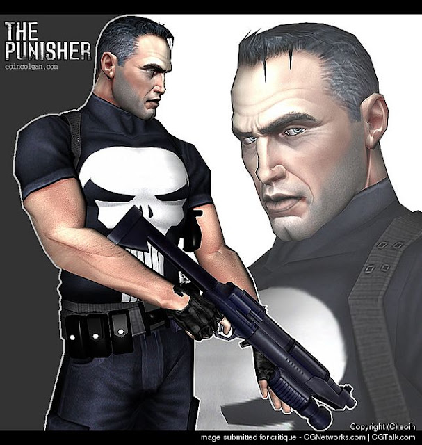 3D Character - THE PUNISHER