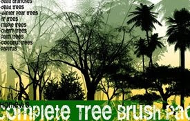 Nature Brushes for Photoshop