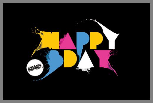 19 Cool Birthday Card Designs Design Inspiration – Cool Designs for Birthday Cards