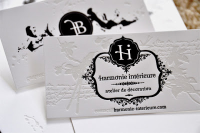 Elegant Black White Business Cards