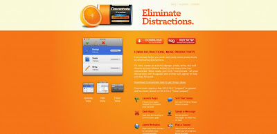 Inspirational Orange Based Websites
