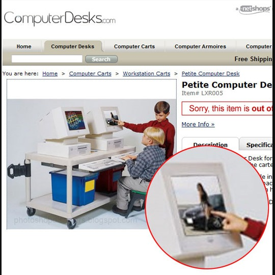 computerdesk photoshop disaster