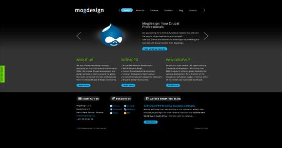 Mogdesign portfolio design