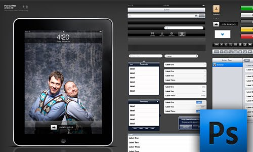 Free iPhone GUI PSD Version 4