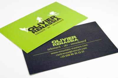 Olivier Renassia Business Card