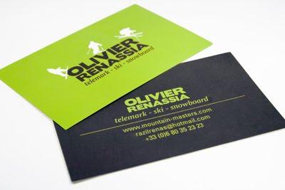 Olivier Renassia Business Card